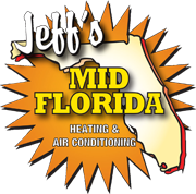 Jeff's Mid Florida Heating & Air Conditioning Logo